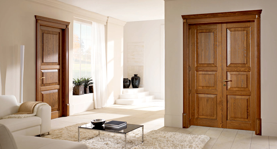 Porte massello per interni | Antine in legno per cucine | Finmaster